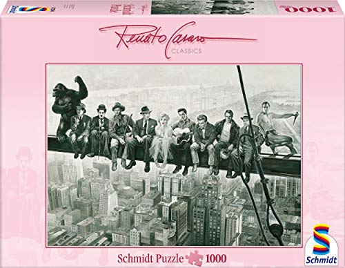 Schmidt Spiele 57294 - Renato Casaro, Drehpause, 1000 Teile Puzzle