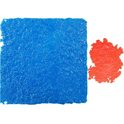 "VEVOR Concrete Texturing Skin, 18""x18"" Concrete Stamp Mat, Polyurethane Concrete Stamping Mats, Blue Slate Concrete Stamps, Concrete Texture Mat, Realistic Concrete Patterns Stamp for Walls/Floors"