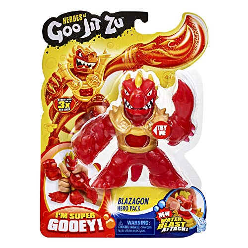 Heroes of Goo Jit Zu - Figura Acción con Agua - Blazagon