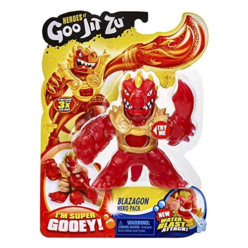 Heroes de Goo Jit Zu - Figura Acción con Agua BLAZAGON