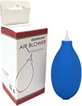Mini Squeeze Ball Pump Duster Ear Mold Dust Cleaner Air Blower for Hearing Aids Camera Lens, Watch (Blue(Plastic))