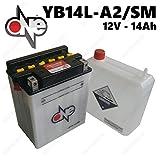 BATTERIA CB14L-A2-SM 12V 14AH CON ACIDO PREDOSATO A CORREDO