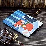 XIAOYAN Preciosos Estuches Impresos para Samsung Galaxy Tab A 8.0 SM-T350 T355 8 Tablet Stand Cover para Samsung Galaxy Tab A T350 Tablet Funda-Adelante