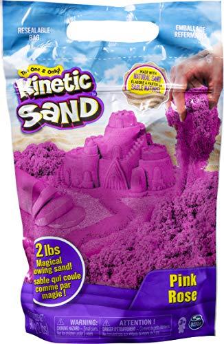 Kinetic Sand The Original Moldable Sensory Play Sand, Pink, 2 Pounds