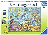 Ravensburger ラベンスバーガー ジグソーパズル 100ピース 人魚のお友達 10838