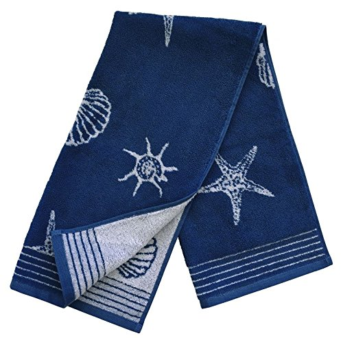 Dyckhoff Seashell Handtuch 50 x 100 cm 400-blau