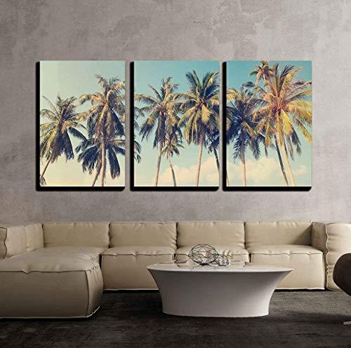 Kunst 3 Stück Leinwand Wandkunst Schöne Landschaft/Landschaft Panorama Blick Über Eine Cinque Terre Village Modern Home Decor Gestreckt Und