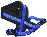 TRIXIE New Premium - Arnés Confort NEW Premium, S, 35-50 cm/25 mm, Azul