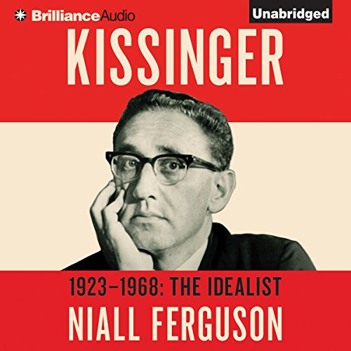 Kissinger: Volume I audiobook cover art