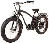 Tucano Bikes Monster 26. Bicicleta eléctrica 26' •Motor: 1.000W-48V • Suspensión Delantera • Frenos Hidráulicos • Velocidad máxima: 42 Km/h •Batería: 48V 12Ah (Negro)