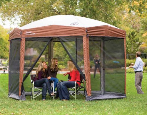 Coleman Screened Canopy Tent with Instant Setup