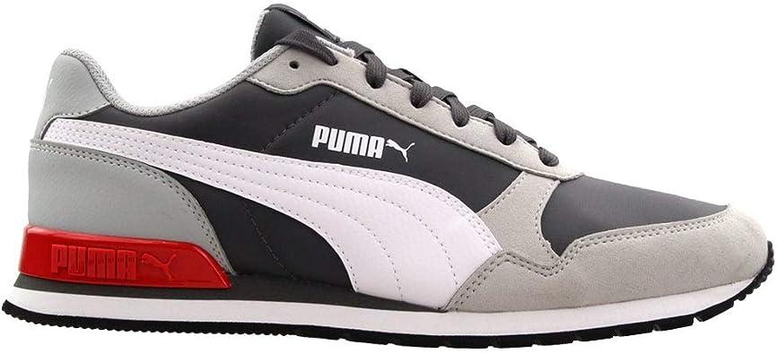 PUMA Mens ST Runner V2 Casual Sneakers, Grey,