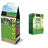 Sementi Batlle Prato rustico e decorativo & 710700Unid Fertilizzante Per Prato Rasato, 1,5 Kg