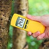 WSN Detector de Humedad Madera,LCD 4 Pin Medidor de Humedad Digital Detector de Humedad Probador de Humedad para Pared de Madera Hormigón Yeso Ladrillo Caravanas Botes y Otros Materiales