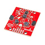SparkFun Triad Spectroscopy Sensor - AS7265x Optical inspection breakout Combines visible UV IR LEDs with three spectral sensors Vcc 3.3V Qwiic I2C Serial Breadboardable or No Soldering Required