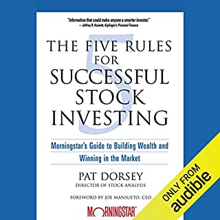 Page de couverture de The Five Rules for Successful Stock Investing