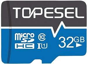 Tarjeta Micro SD 32GB, TOPESEL Tarjeta Memoria Alta