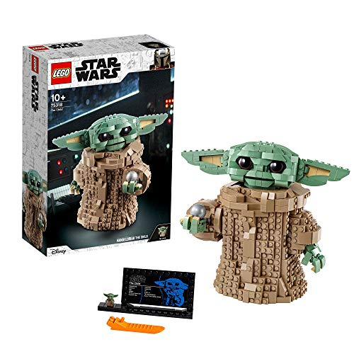 LEGO 75318 Star Wars: The Mandalorian El Nino, Figura de Baby Yoda, Idea de regalo
