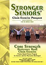 Stronger Seniors Core Strength Resistance Band Exercise Program developed by Anne Burnell, Instructor at the Rehabilitation Institute of Chicago. Gentle Exercises for Arthritis, Osteoporosis and Parkinson's. Resistance Band included
