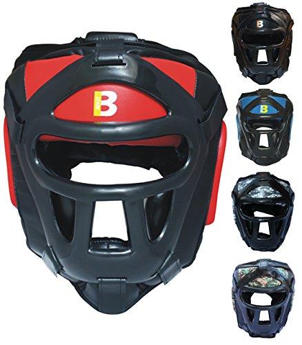 BOUT3® Boxen Kopfschutz Helm für...