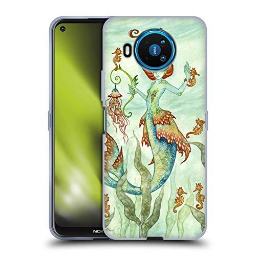 Head Case Designs Licenciado Oficialmente Amy Brown Guardián del Caballo Hadas Elementales Carcasa de Gel de Silicona Compatible con Nokia 8.3 5G