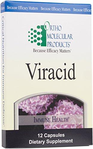 Ortho Molecular - Viracid - 12 Capsule Blister Pack