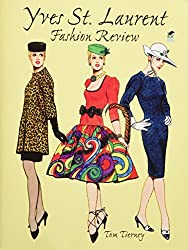 yves st laurent fashion paper dolls