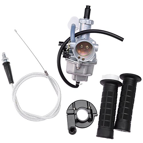 Carburetor Carb for HONDA XR 100 XR 100R XR100R XR100 CRF100F XR200 XR200R XL125S XL100S CB125S with Handlebar Hand Grips Throttle Cable