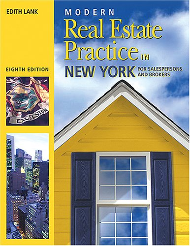 Modern Real Estate Practice in New York
