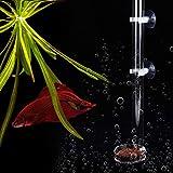 SALUTUYA Alimentador de Tanque de Peces Conveniente sin contaminación del Agua(Tube Length 40cm)