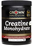 Crown Sport Nutrition Creatina Monohidrato Creapure con certificado antidoping Informed Sport,...