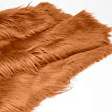 Kunstpelz Stoff 2020 Zoll Shaggy Plüsch Pelz Patch für
