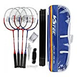 V3tec V Tec 300 Family - Juego de 4 raquetas de bádminton