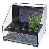 Penn-Plax AquaTerrium Fish Tank – 2 Chambers, 1...