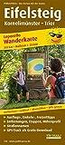 Eifelsteig, Kornelimünster - Trier: Leporello Wanderkarte mit Ausflugszielen, Einkehr- & Freizeittipps, wetterfest, reissfest, abwischbar, GPS-genau. 1:25000 (Leporello Wanderkarte: LEP-WK)