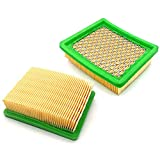 2 filtros de aire para cortacésped Hecht 5534 SX SXE 5534SX 5534SXE