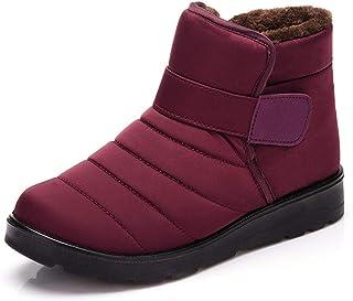 PAMRAY Snow Boots Women Men Sports Booties Winter Hiking Shoes Warm Faux Fur Lined Platform Ankle Footwear Outdoor Walking...
