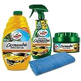 Turtle Wax Complete Carnauba Wash & Wax Kit