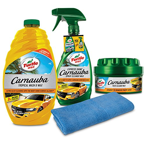 Turtle Wax - 50825 Complete Carnauba Wash & Wax Kit