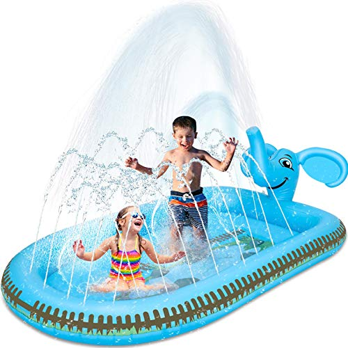 (65% OFF) Inflatable Splash Pad Sprinkler $11.54 – Coupon Code