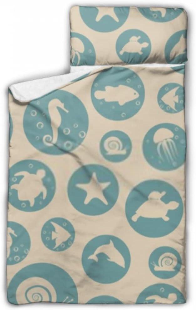 JIUCHUAN Kids Sleeping Bag Marine Life Seamless Super intense cheap SALE Pattern I Vector
