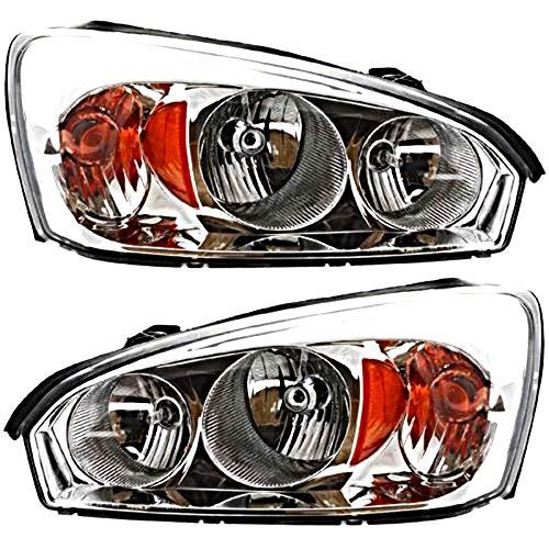 04-07 Chevy Malibu;04-07 Malibu Maxx;08 Malibu Classic L&R Headlamp Assys (pair)