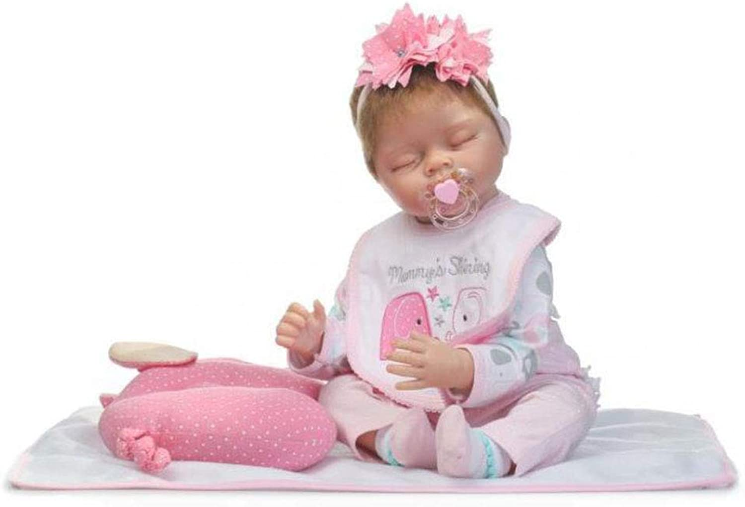 WXIAGoldNG Baby Reborn Baby Dolls 21 Lovely Real Lifelike Realistic Looking Reborn Baby Girl Doll Handmade Soft Baby Toddler Neugeborene Puppen Fake Babies Magnetic Mouth B07PLJNWV4 Kaufen Sie online  | Moderne Muster