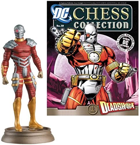 DC Superhero Deadshot schwarz Pawn Chess Piece & Mag