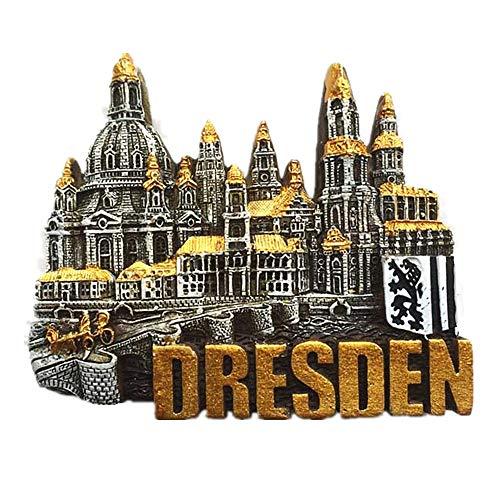 3D Dresden Deutschland Kühlschrankmagnet Souvenir Geschenk Home & Kitchen Dekoration Magnetaufkleber Deutschland Kühlschrankmagnet Reise Souvenir Geschenk