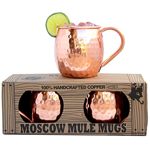 Morken Barware Moscow Mule Mugs - Set of ...