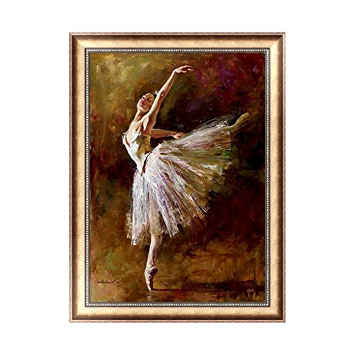 Lulujan DIY 5D Ballet Girl Diamond Painting Kit Crystal Embroidery Cross Stitch Art Craft Educational Toy Home Decor