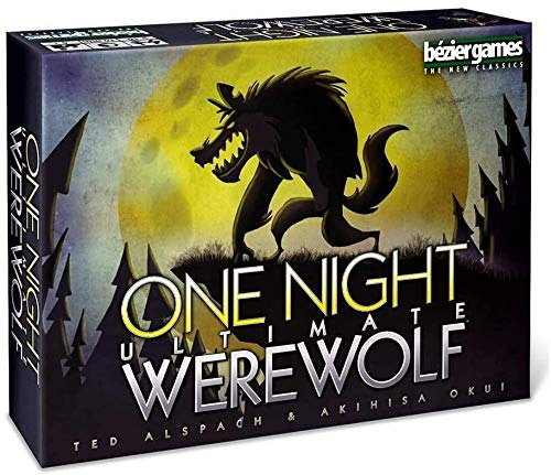 RUIPTSKE One Night ultimative Werwolf - Karte Brettspiele - Party-Spiel - 3 bis 10 Spieler - Deutsche Version geeignet für Familienfeste und Camping