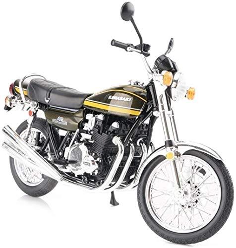 maniquíes Regalo de cumpleaños de BMX modelo de la motocicleta del camino una y doce Locomotora de simulación de motocicletas Diecast Metal Modelo Bicicleta del modelo de escala de niños Vehículo de s