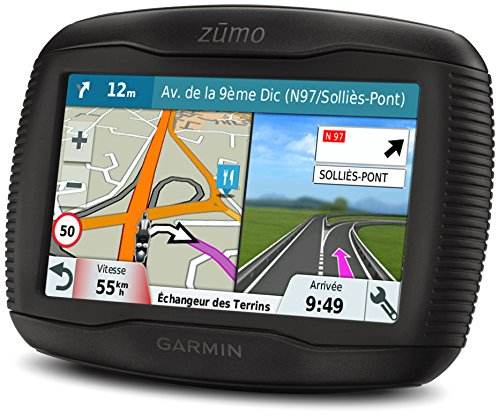 Garmin Zumo 345LM WE Navigatore per Moto, Mappa Italia e Europa Occidentale, Display 4.3